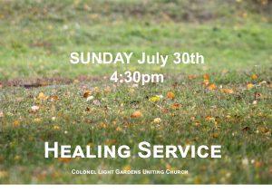 healing service 30.7.17